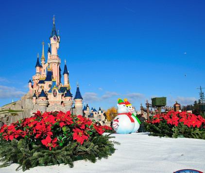 Christmas Lights in Disneyland® Paris, Busreise, ©Disney
